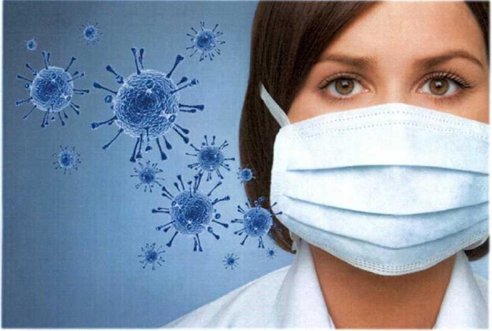Медицинская маска против короновируса
